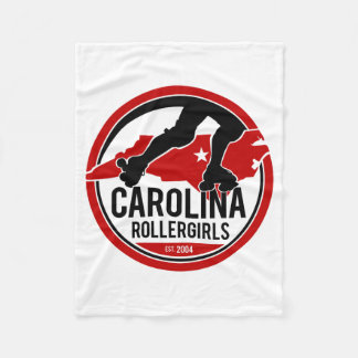 Cobertor De Velo Cobertura do velo de Carolina Rollergirls