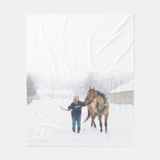 Cobertor De Velo Cobertura do velo de Cindy e de irlandês - design