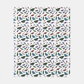 Cobertor De Velo Cobertura do velo de Flutterbies (escolha a cor)