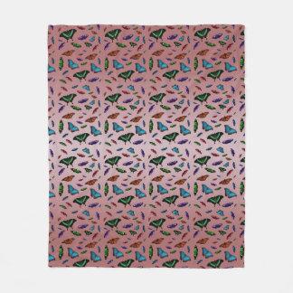 Cobertor De Velo Cobertura do velo de Flutterbies (mistura
