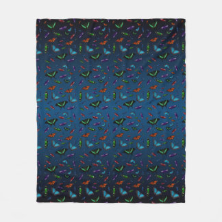 Cobertor De Velo Cobertura do velo de Flutterbies (mistura dos