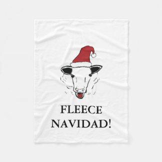 Cobertor De Velo Cobertura do velo de Navidad do velo