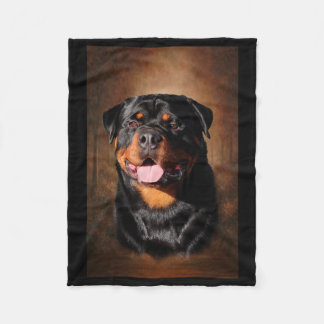 Cobertor De Velo Cobertura do velo de Rottweiler