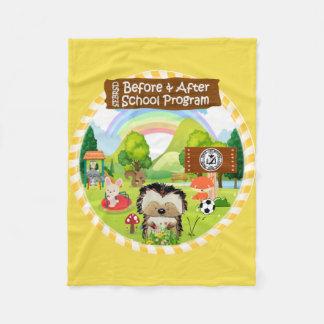 Cobertor De Velo Cobertura do velo de SEBRSD B/ASP (amarelo)