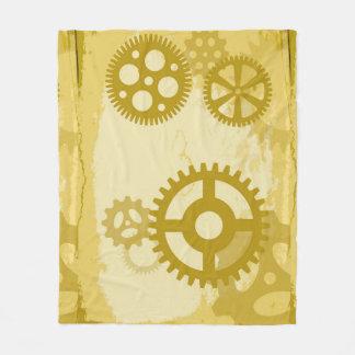 Cobertor De Velo Cobertura do velo de Steampunk, meio