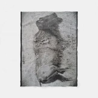 Cobertor De Velo Cobertura do velo do bisonte americano