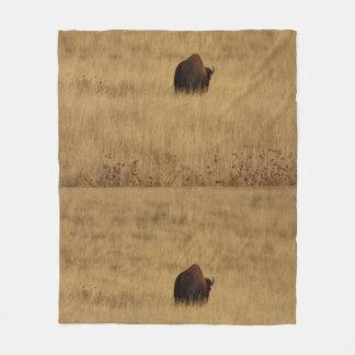 Cobertor De Velo Cobertura do velo do búfalo do bisonte