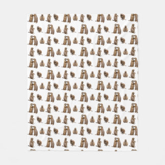 Cobertor De Velo Cobertura do velo do cão de pradaria (escolha a