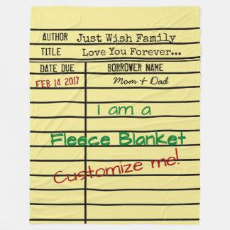 Cobertor De Velo Cobertura do velo do cartão de data aprazada da
