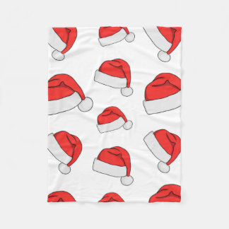 Cobertor De Velo Cobertura do velo do chapéu do Natal