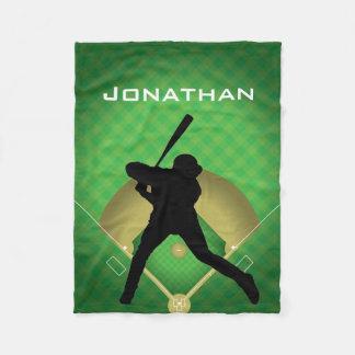Cobertor De Velo Cobertura do velo do design da massa do basebol