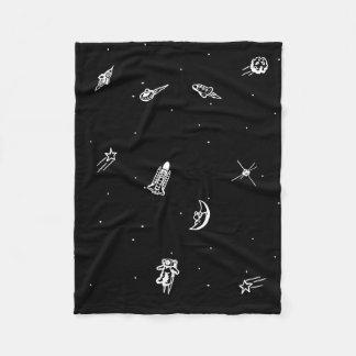 """Cobertor De Velo Cobertura do velo do """"espaço"""""""
