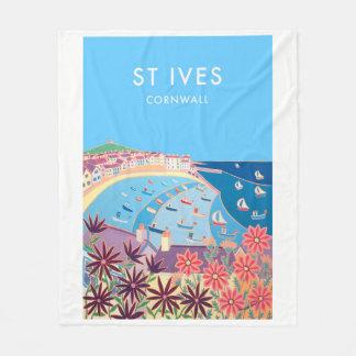 Cobertor De Velo Cobertura do velo do estilo do vintage de St Ives,