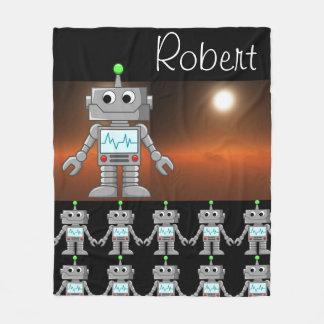 Cobertor De Velo Cobertura do velo do exército do robô