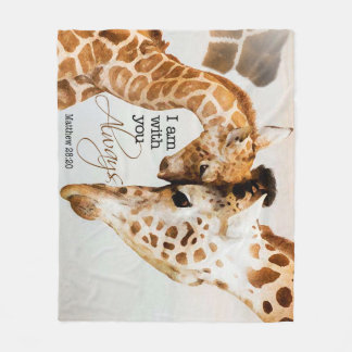 Cobertor De Velo Cobertura do velo do girafa
