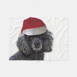 Cobertor De Velo Cobertura do velo do lance da caniche do Natal