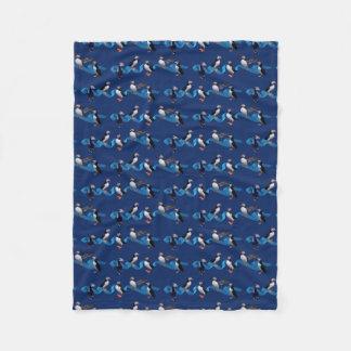 Cobertor De Velo Cobertura do velo do partido do papagaio-do-mar