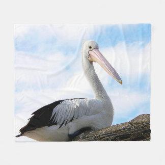Cobertor De Velo Cobertura do velo do pássaro do pelicano