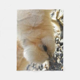 Cobertor De Velo Cobertura do velo do pintinho de Silkie