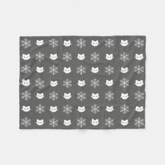 Cobertor De Velo Cobertura do velo do poliéster do floco de neve do