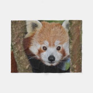 Cobertor De Velo Cobertura do velo do retrato da panda