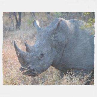 Cobertor De Velo Cobertura do velo do rinoceronte