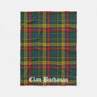 Cobertor De Velo Cobertura do velo do Tartan de Buchanan do clã