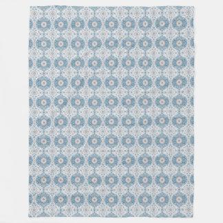Cobertor De Velo Cobertura do velo do teste padrão de Ogee do