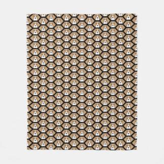 Cobertor De Velo Cobertura do velo do teste padrão do favo de mel