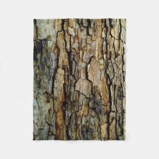 Cobertor De Velo Cobertura do velo do tronco de árvore