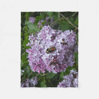 Cobertor De Velo Cobertura do velo do zangão e do Lilac