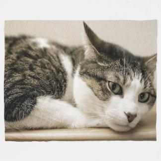 Cobertor De Velo Cobertura do velo dos amantes do gato