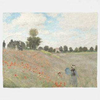 Cobertor De Velo Cobertura do velo dos Wildflowers do campo da