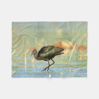 Cobertor De Velo Cobertura do velo - íbis Branco-enfrentados -