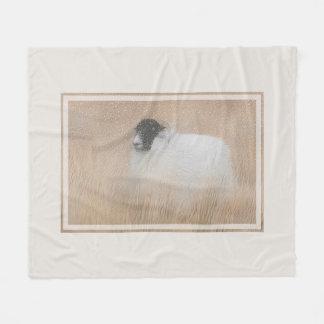 Cobertor De Velo Cobertura dos carneiros do Moorland do inverno