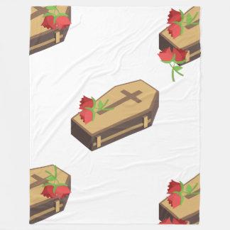 Cobertor De Velo cobertura dos emojis do caixão