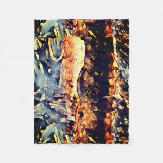 Cobertor De Velo Cobertura dourada do lance dos Embers