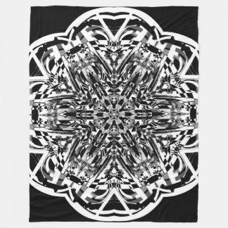 Cobertor De Velo COBERTURA ECTÁTICA da MANDALA da flor