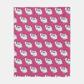 Cobertor De Velo Cobertura espirituoso do velo do gatinho