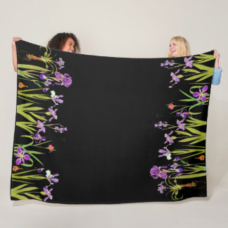 Cobertor De Velo Cobertura floral do velo do jardim de flores da