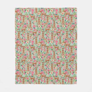 Cobertor De Velo Cobertura floral irlandesa de Terrier - lance