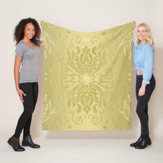 Cobertor De Velo Cobertura floral mergulhada elegante do velo do