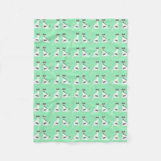 Cobertor De Velo Cobertura gêmea do velo dos gatinhos