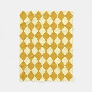 Cobertor De Velo Cobertura: Goldrenrod & diamantes do soro de leite