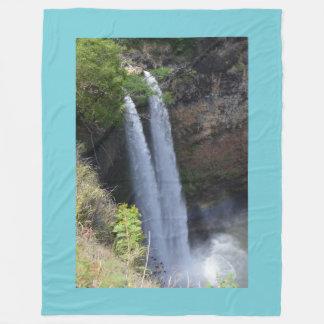 Cobertor De Velo Cobertura gráfica da queda da água
