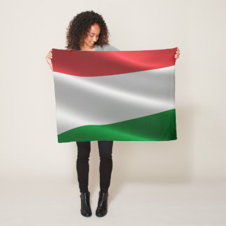 Cobertor De Velo Cobertura húngara do velo da bandeira