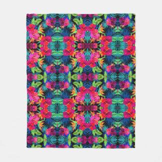 """Cobertor De Velo Cobertura impressa floral do velo, 50"""" x60 """""""