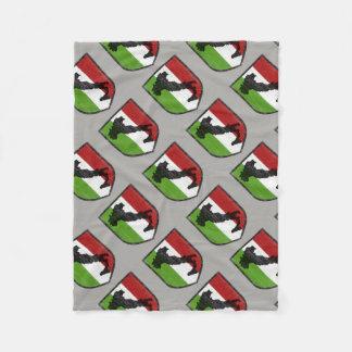Cobertor De Velo Cobertura italiana do velo da crista da bandeira