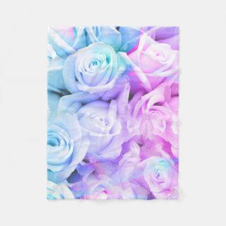 Cobertor De Velo Cobertura macia amanteigada do velo dos rosas