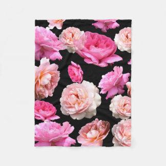 Cobertor De Velo Cobertura macia amanteigada floral romântica
